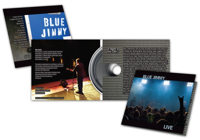 Blue Jimmy Live CD